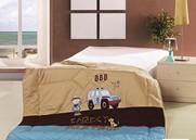 Одеяло Partrol стеганное с вышивкой 155х215 см