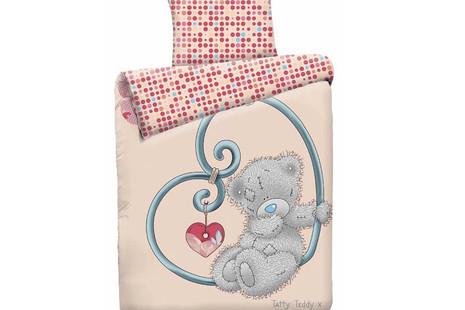 Постельное белье Teddy с сердцем 403
