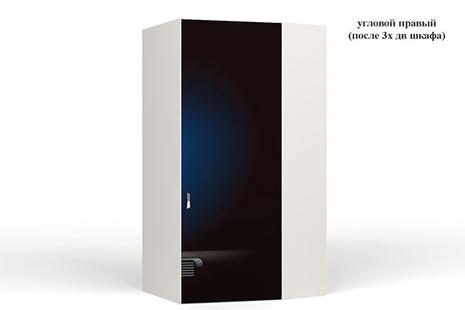 Шкаф угловой  Police 2 к шкафу 3-х дверному